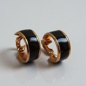 VTG Enamel Hoop Earrings Mix/Match 2/$10!